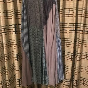 Free people long skirt